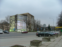 Maskvos kultūros ir informacijos centro pastatas Juozapavičiaus ir Rinktinės gt. sankirtoje, Vilniuje
